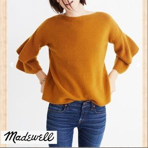 Madewell Tier Sleeve Sweater